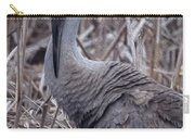 Posing Sandhill Crane Carry-all Pouch