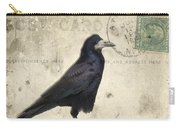 Post Card Nevermore Carry-all Pouch by Edward Fielding