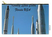 Post Card Of The Kennedy Space Centre Florida Carry-all Pouch