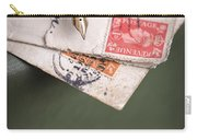 Post Cards And Fountain Pen Carry-all Pouch