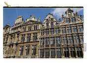 Postcard From Brussels - Grand Place Elegant Facades Carry-all Pouch