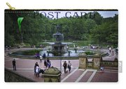 Postcard From Central Park Carry-all Pouch