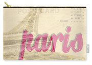 Postcard From Paris Carry-all Pouch