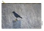 Posted Crow Carry-all Pouch