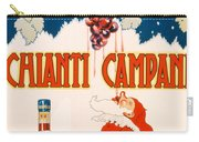 Poster Advertising Chianti Campani Carry-all Pouch by Necchi