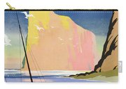 Poster Advertising The Gaspe Peninsula Quebec Canada Carry-all Pouch