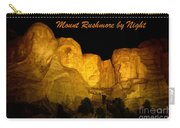 Poster Of Mount Rushmore Carry-all Pouch