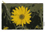 Posterized Smooth Oxeye Carry-all Pouch
