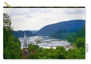 Potomac River At Harpers Ferry Carry-all Pouch