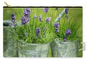 Pots Of Lavender Carry-all Pouch
