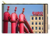 Potsdamer Platz Pink Pipes In Berlin Carry-all Pouch
