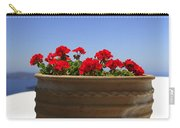 Potted Geranium Carry-all Pouch