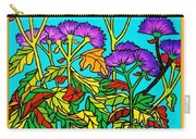 Potted Mums Framed Carry-all Pouch
