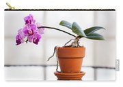 Potted Pink Orchid Carry-all Pouch