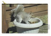 Potted Squirrel Carry-all Pouch