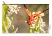 Potter Wasp Female Carry-all Pouch