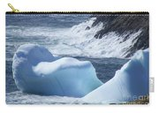Pounding Surf With Icebergs Carry-all Pouch