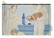 Pouring Water Over The Patient Carry-all Pouch by Joseph Kuhn-Regnier