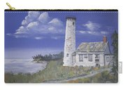Poverty Island Lighthouse Carry-all Pouch