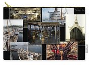 Power Collage Queen Mary Ocean Liner Long Beach Ca 01 Carry-all Pouch
