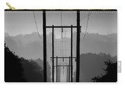Power In The Morning Mist Carry-all Pouch