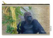 Powerful Female Gorilla Carry-all Pouch