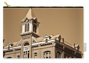 Powhatan Court House Sepia 5 Carry-all Pouch