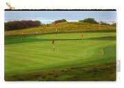 Practice Green At Spanish Bay Detail Carry-all Pouch