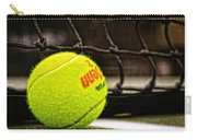 Practice - Tennis Ball By William Patrick And Sharon Cummings Carry-all Pouch