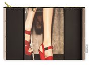 Prada Red Shoes Carry-all Pouch