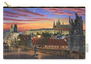 Prague At Dusk Carry-all Pouch