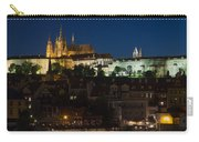 Prague  Castle At Night Carry-all Pouch