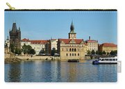 Prague East And Charles Bridge Carry-all Pouch