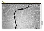 Prague Street Map - Prague Czech Republic Road Map Art On Colore Carry-all Pouch