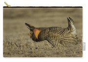 Prairie Chicken-9 Carry-all Pouch by Thomas Young