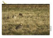 Prairie Chickens After The Boom Carry-all Pouch by Thomas Young