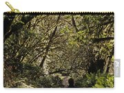 Prairie Creek Redwood State Park With Sun Breaking Through Trees Carry-all Pouch