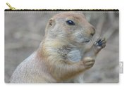 Prairie Dog Cleaning His Teeth Carry-all Pouch