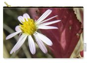 Prairie Flower And Red Lambs Quarter Carry-all Pouch