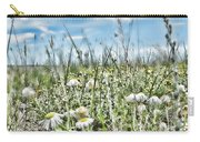 Prairie Flowers And Grasses Carry-all Pouch