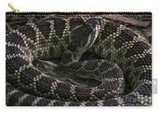 Prairie Rattlesnake Carry-all Pouch