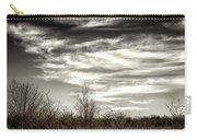 Prairie Winter Sky Carry-all Pouch