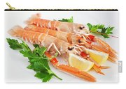 Prawns With Lemon And Parsley  Carry-all Pouch