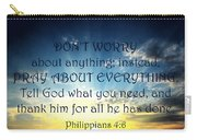Pray About Everything 2 Carry-all Pouch