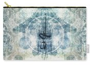Prayer Flag 13 Carry-all Pouch by Carol Leigh