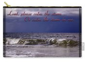 Prayer In Storm Carry-all Pouch