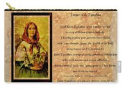 Prayer To St. Dymphna 2 Carry-all Pouch