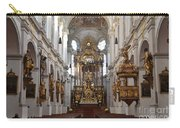 Praying At Munich Church Germany Carry-all Pouch