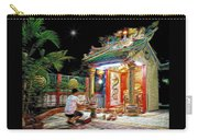 Praying At The Shrine. Carry-all Pouch
