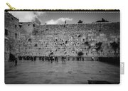 Praying At The Western Wall Carry-all Pouch